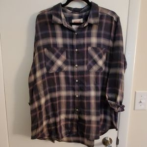 Mossimo Boyfriend Button Down